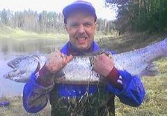 Igora Harjuzova rekordlasis 16,00 kG, Venta, 01.05.2005.
