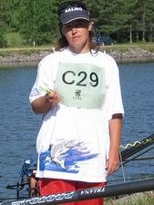 Rita Verza Grabovska - labākā Latvijas komandā Lappeenrantā 2005
